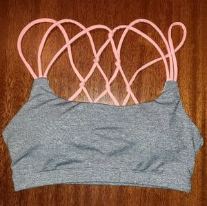 Pinkblush Strappy Sports Bra